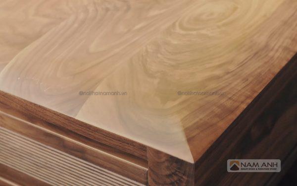 Mẫu bàn ghế sofa gỗ óc chó cao cấp giá rẻ