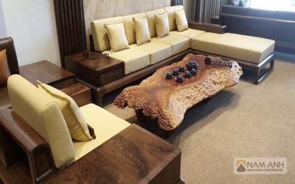 Tư vấn chọn sofa gỗ cho phòng khách